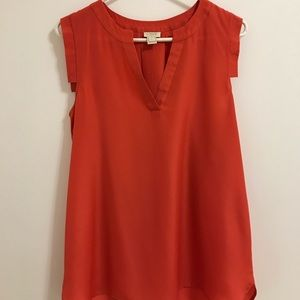 J. Crew Top Sleeveless Blouse
